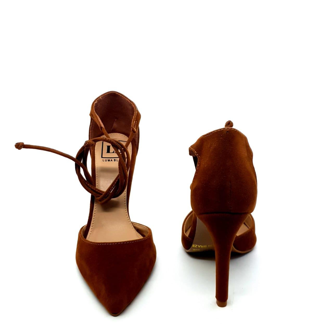 Sapato Scarpin Caramelo