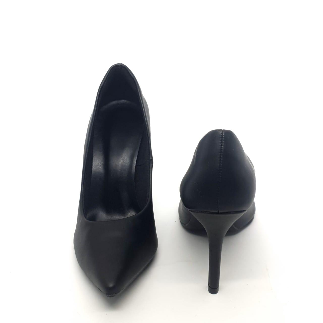 Sapato scarpin preto