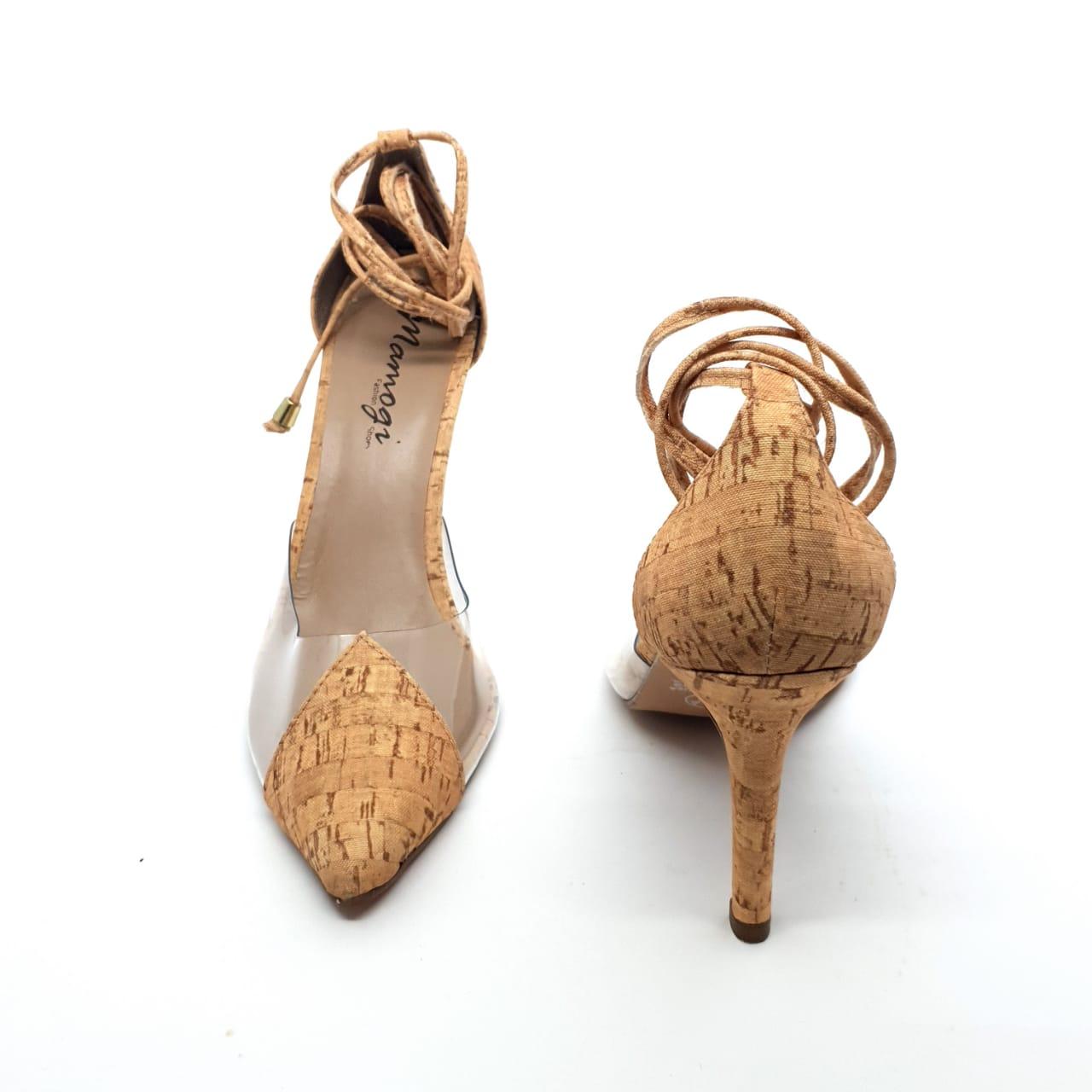 Sapato Scarpin Rolha