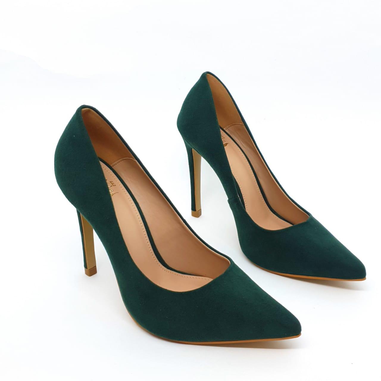 Sapato Scarpin Verde