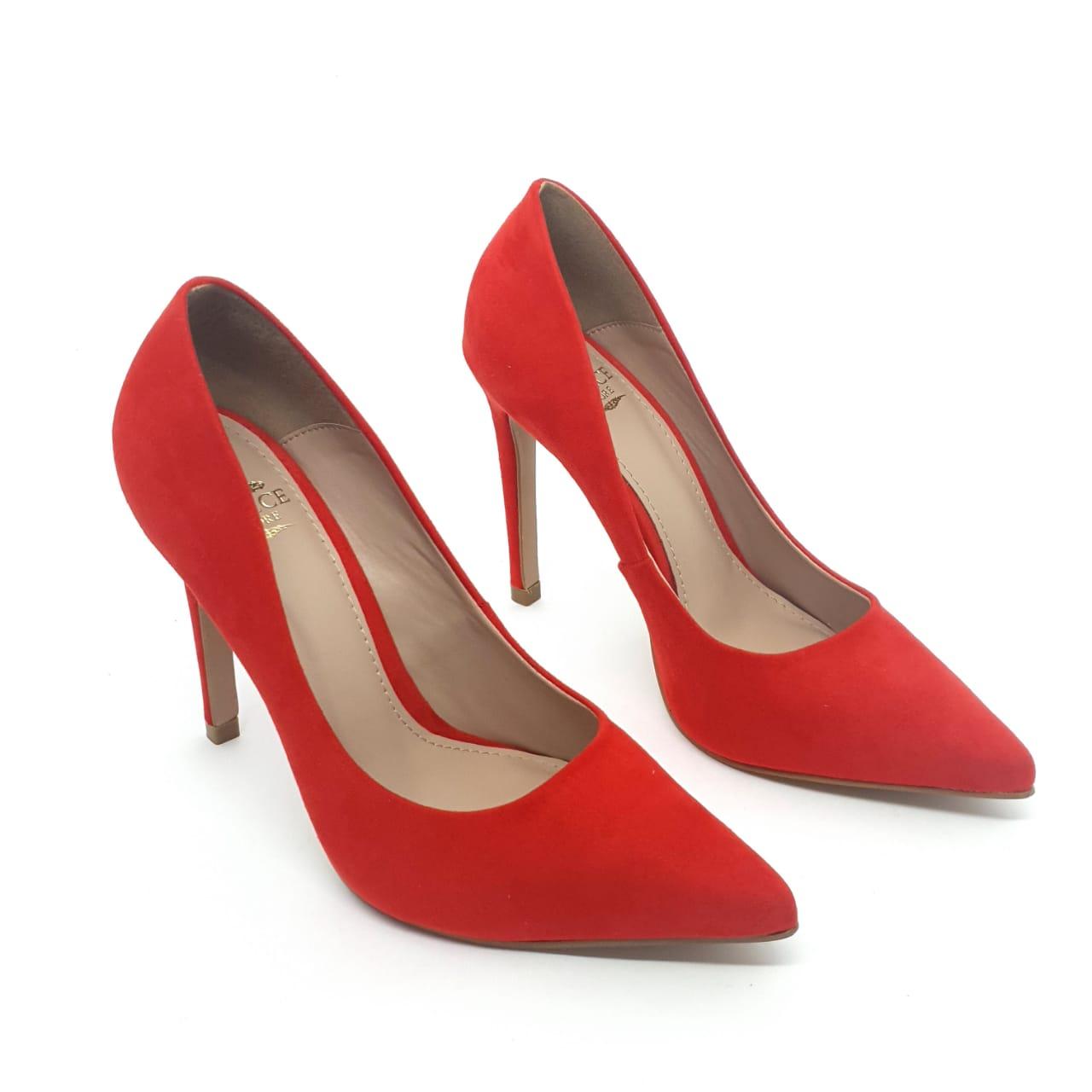 Sapato scarpin vermelho