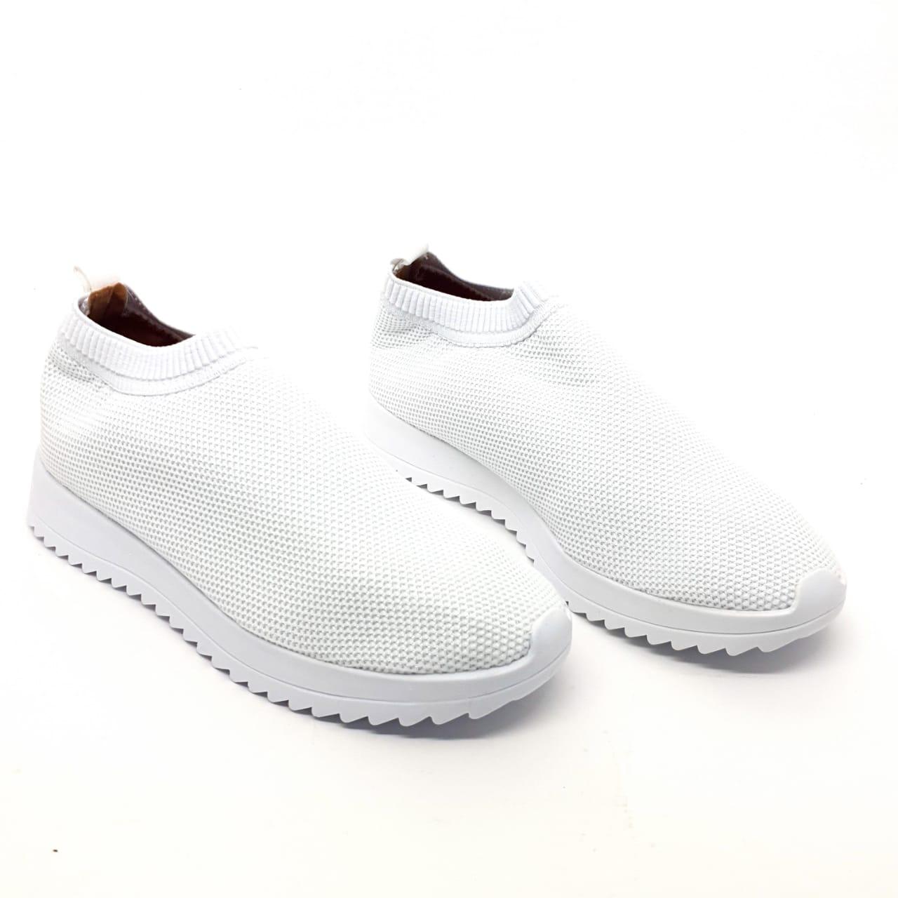 Tenis meia branco