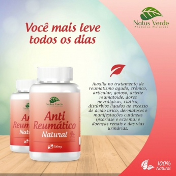 Anti Reumatico 60 Caps Natus Verde