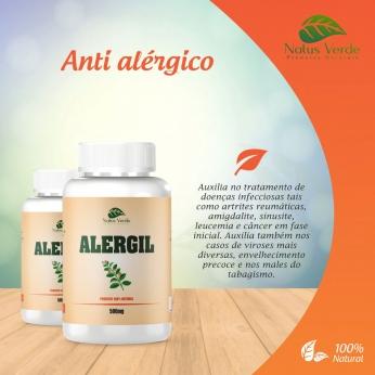 Antialérgico Natural Alergil 60 Caps. Natus Verde