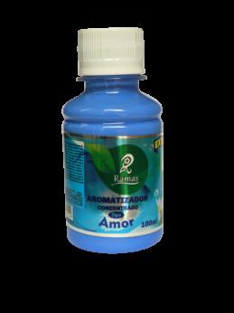 Aromatizante Concentrado AMOR Rende 5L Extra Forte 100ML
