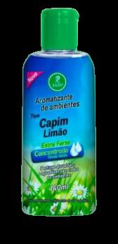 Aromatizantes de ambientes Tipo Capim Limão Extra Forte Concentrado Rende Muito 140ML