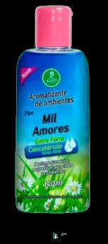 Aromatizantes de ambientes Tipo Mil Amores Siciliano Extra Forte Concentrado Rende Muito 140ML