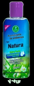 Aromatizantes de ambientes Tipo Natura Extra Forte Concentrado Rende Muito 140ML