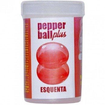 Bolinha Excitante Pepper Ball Plus Esquenta 2 unid Pepper Blendt