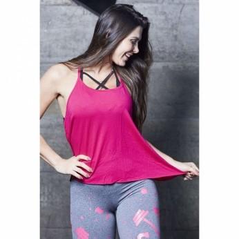 Camiseta Feminina Blusa Fitness Lia Lisa