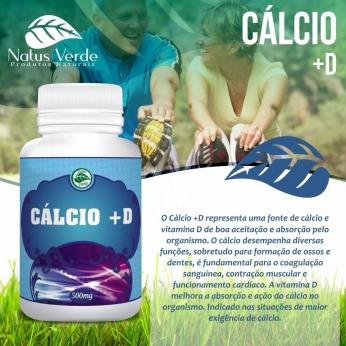 Composto Natural Calcio + D 60 Caps Natus Verdes