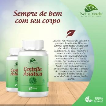 Composto natural Centella Asiática Produto Natural Natus Verde