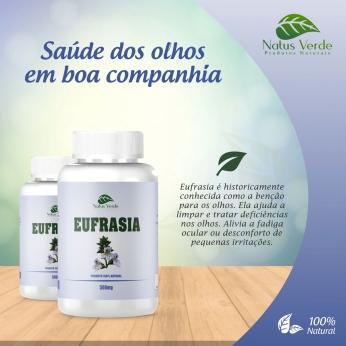 Composto Natural Eufrasia 60 Caps Natus Verde