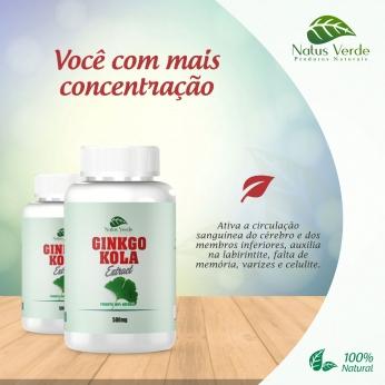 Composto Natural Ginkgo Kola Natus Verde