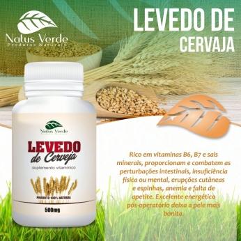 Composto Natural Levedo De Cerveja Natus Verde