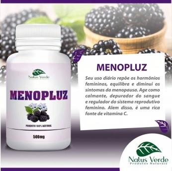 Composto Natural Menopluz 60 Caps Natus Verde