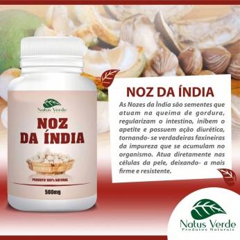 Composto Natural Noz da Índia 60 Caps Natus Verde