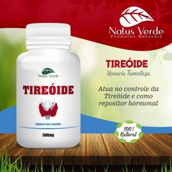 Composto Natural Regulador da TIREOIDE 60 Caps Natus Verdes