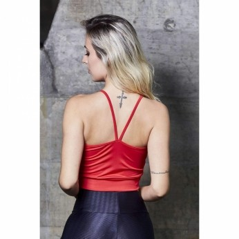 Cropped Strappy Liso
