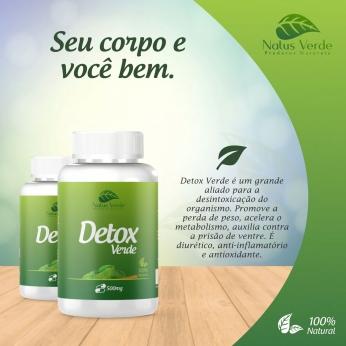 Detox Natural Detox Verde 60 Caps Natus verde