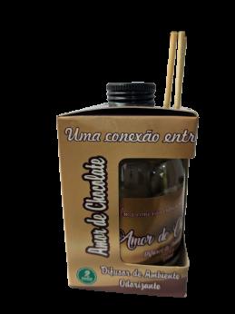 Difusor de Ambiente Odorizante Tipo Amor de Chocolate 250ml Ramas