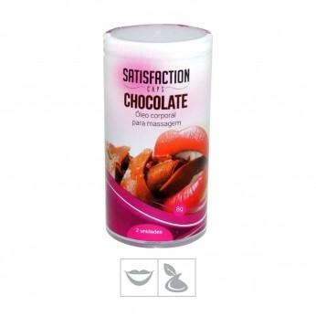 Erotico  Bolinha Beijável Chocolate Satisfaction Caps 2un