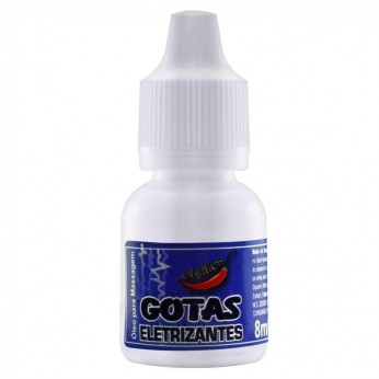 Erotico  Gotas Eletrizantes 8ml Chillies