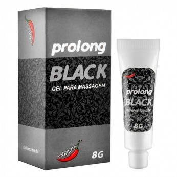 Erotico  Retardante Masculino Prolong Black 8 Gr Chillies