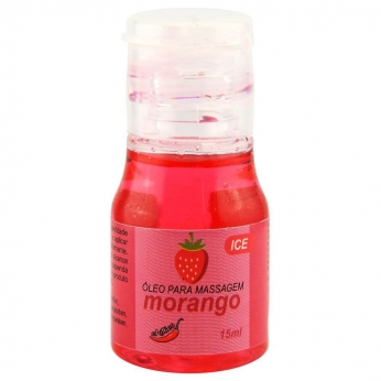 Gel Comestivel Ice Morango  15ml Chillies