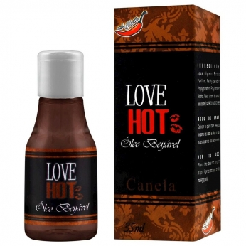 Gel Comestível Love Hot 35ml Chillies Canela