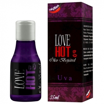 Gel Comestível Love Hot 35ml Chillies Uva 35 Ml