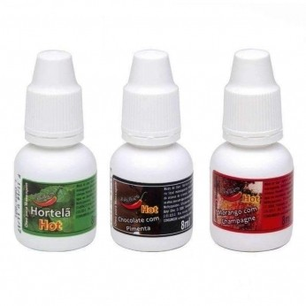 Gotas do Prazer Aromáticas 8ml Chillies