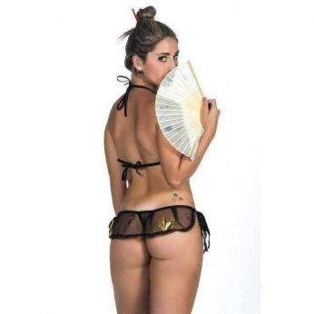 Lingerie Erotica  Mini Fantasia Gueixa