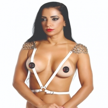 Ombreira Feminina com Argolas
