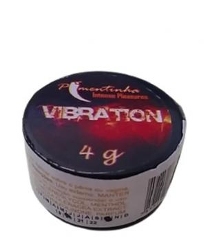 Pomada excitante unissex efeito vibratório 4 gr
