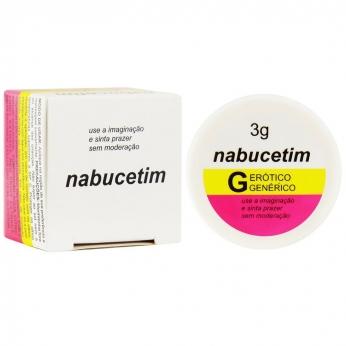 Pomada Nabucetim 3G Segred Love produto erotico sexshop