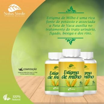 Produto Natural Estigma de milho 60 CAPS Natus Verde