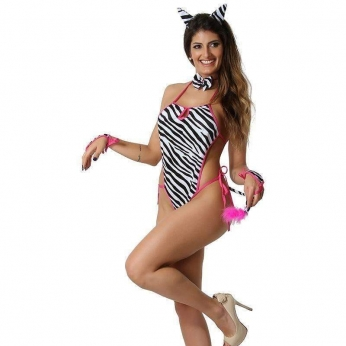 Produtos Eroticos Sexshop Fantasia Zebra