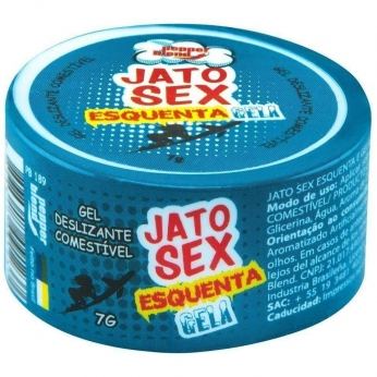 Produtos Eroticos Sexshop Jato Sex Esquenta E Gela Gel 7g Pepper Blend