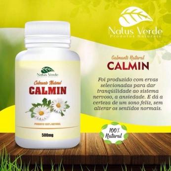Relaxante Natural Calmin Natus Verdes 60 caps