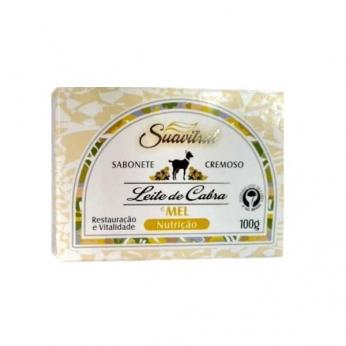 Sabonete cremoso Leite de cabra e mel Original 100g