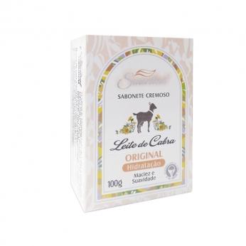 Sabonete cremoso Leite de cabra Original 100g