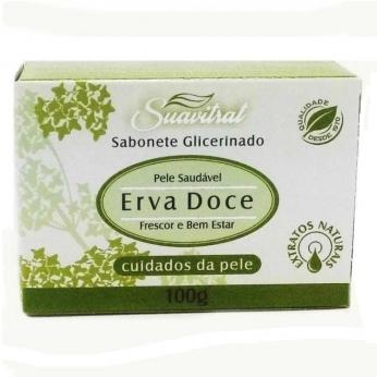 Sabonete glicerinado Erva Doce 100g