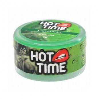 Sexshop produtos eroticos Retardante de Ejaculação Pomada Funcional Garanhão Hot Time 5g