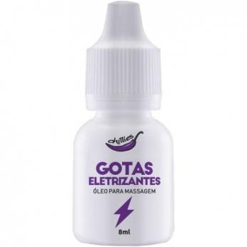 Super Exicitante Gotas Eletrizantes Para Massagem 8ml Chillies