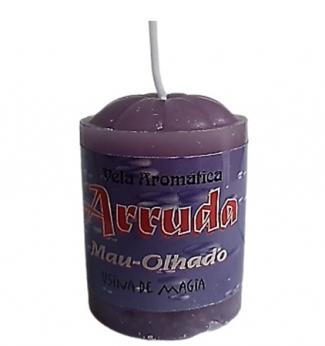 Vela Aromatica de Arruda Mau-Olhado Unitária 30gr