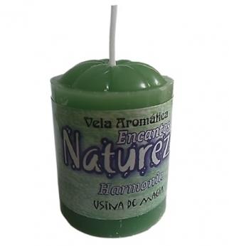 Vela Aromatica de Encantos da Natureza Harmonia Unitária 30gr