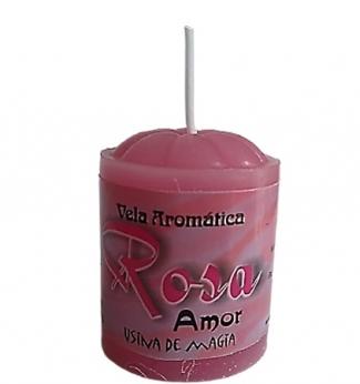 Vela Aromatica de Rosas Amor Unitária 30gr