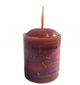 Vela Aromatica de Ylang Ylang Afrodisíaca Unitária 30gr