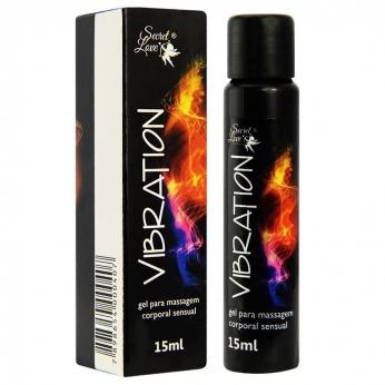 Vibration Gel Eletrizante 15Ml Segred Love sex shop revenda